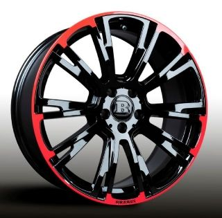 Monobloc R red/black 8,5Jx19