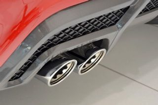 BRABUS sports exhaust A klasse W176